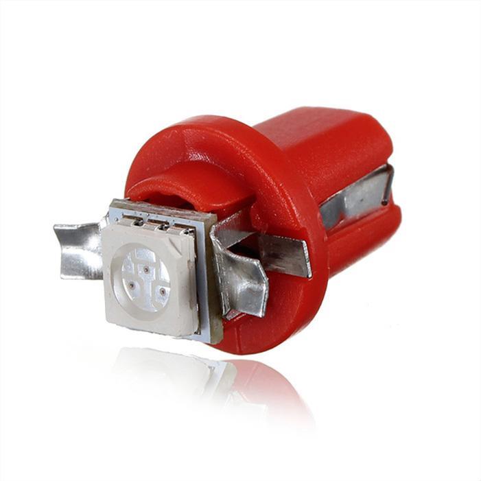 Interlook LED auto žárovka LED T5 R5 1 SMD 5050 červená